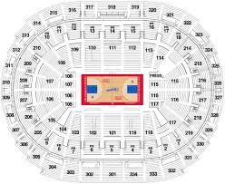 New Orleans Convention Center Map by Staples Center Seating Chart La Clippers