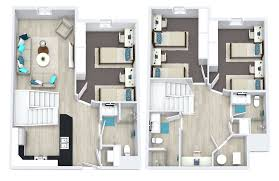 Apartment Complex Floor Plans Townhome Home Fp Img Png