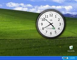 afficher l heure sur le bureau crossgl surface clock télécharger