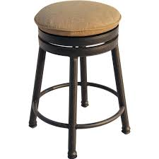 Aluminum Directors Chair Bar Height by Darlee Classic Cast Aluminum Round Backless Patio Swivel Counter