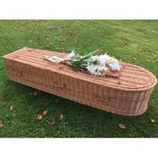 wicker casket wicker willow