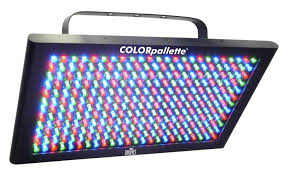Used Dj Lighting Chauvet Dj Colorpalette Stage Light Zzounds