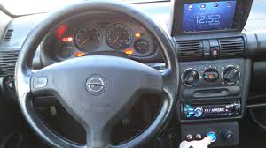 opel tigra interior opel tigra 1999 start button youtube