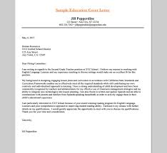 5 educator cover letter educator cover letters lexgstein com
