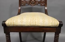 Esszimmerst Le Antik Antike Dänische Stühle 19 Jh 9er Set Bei Pamono Kaufen
