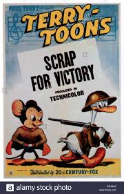mighty mouse scrap for victory left mighty mouse 1943 tm and copyright