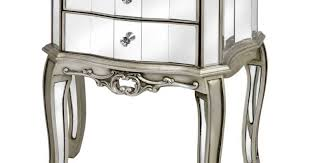 Cheap Side Table by Table Outstanding Mirrored Bedside Table Feat Gold Accent