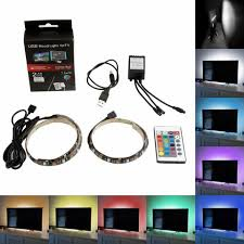 color led light strips usb led light strip kit multi color changing lighting smmbdstore com