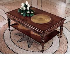 dark walnut coffee table dreamfurniture com san marco dark walnut coffee table