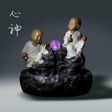 customized zen monk water fountains small household
