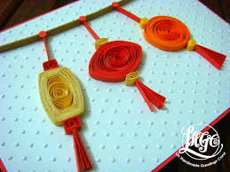 azlina abdul quilled lanterns on cny cards