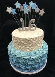 16 cake topper silver number cakes birthday numbers and 16th