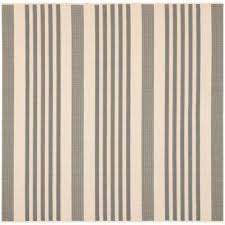 Square Indoor Outdoor Rugs Striped Square Modern Outdoor Rugs Rugs The Home Depot