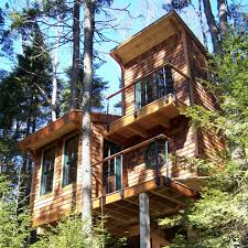 Best Treehouse Traditional Pallet Tree House Best House Design Pallet Tree