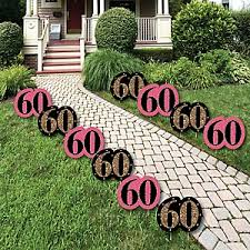 60th birthday party ideas chic pink black and gold 60th birthday birthday party theme
