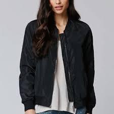 light bomber jacket womens la hearts windbreaker bomber jacket from pacsun quick saves