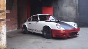 porsche 911 custom magnus walker built this porsche 911 in 6 weeks on the cheap