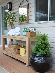 How To Decorate A Side Table by Outdoor Vignette On My Patio Before U0026 After Vignettes Patios