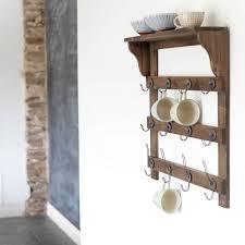 Kitchen Wall Shelf Best 25 Wall Shelf With Hooks Ideas On Pinterest Bathroom Towel