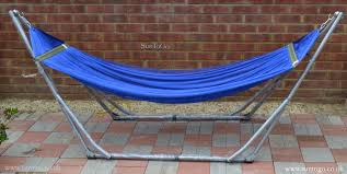 suntogo premium foldable hammock stand portable travel bed