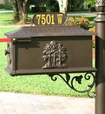 decorative mailbox custom mailbox onsight signs