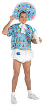 amazon com forum novelties men u0027s baby boomer costume blue