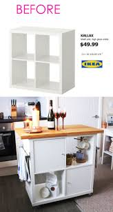 kitchen island ikea hack 20 smart and gorgeous ikea hacks great tutorials a