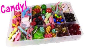 diy candy survivor box gumballs swirly gummy candy chocolate