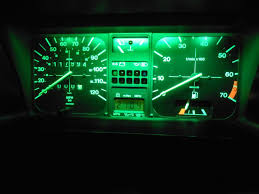 green led dash lights view topic dashboard lighting the mk1 golf owners club