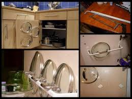 Kitchen Cabinet Storage Bins by Kitchen Room Undercounter Pan Rack Kitchen Cabinet Storage