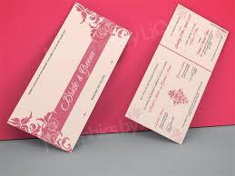 asian wedding invitation pink asian wedding invitation card qdl16