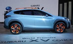 subaru crossover blue 2016 geneva motor show subaru xv concept autonxt