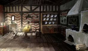 the witcher ii house interior games pinterest character