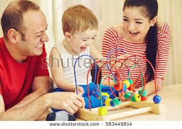 family developing home stock photo 583449814