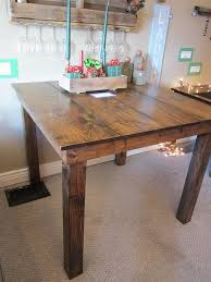 Farm Table Kitchen by Best 25 Counter Height Table Ideas On Pinterest Bar Height