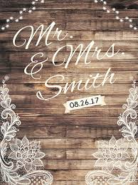wedding backdrop font custom wedding rustic wood backdrop any text engagement