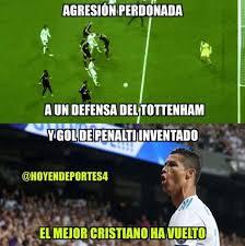 Tottenham Memes - memes del real madrid tottenham