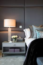 Modern Luxury Bedroom Design - how a home could look like if it had upholstered walls