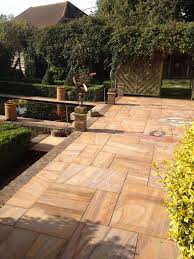 Natural Stone Patio Ideas Rainbow Sawn Sandstone Paving Natural Stone U0026 Timber Ltd For