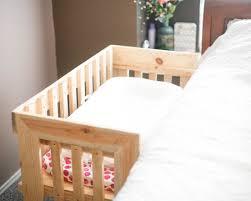 Mini Co Sleeper Canopy by Wooden Co Sleeper Bassinet Cosleeper Crib Newborn Infant