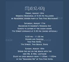 wedding itinerary 26 wedding itinerary templates free sle exle format