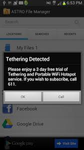 android popup getting rid of tethering detected popup on android ics 4 0