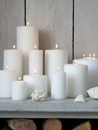 Home Decor Candles Best 25 White Candles Ideas On Pinterest Candle Fireplace