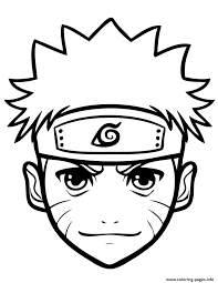 anime naruto for kidsff44 coloring pages printable