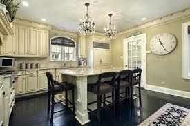 Chandelier In The Kitchen Crystal Chandelier Over Kitchen Sink Crystal Lighting In Kitchen