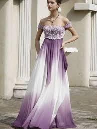 purple white wedding dress ivory or white and colour satin wedding dress juliet purple