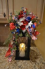patriotic lantern swag by kristenscreations on etsy christmas
