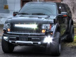 ford raptor grill for 2007 f150 rigid lighting vehicle specific ford f 150 raptor
