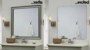 bathroom mirror replacement framed bathroom mirror bathroom mirror replacement 1