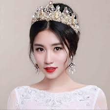 cheap hair accessories vintage european baroque princess wedding hair accessories crown